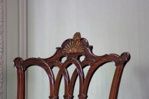 George Washington's Rising Sun Chair